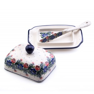 Butter Dish + Knife