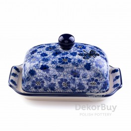 Butter Dish and saucers