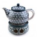 Teapot 1,2 l. + Heater 13 cm.