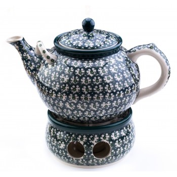 Teapot 1,8 l. + Heater 15 cm