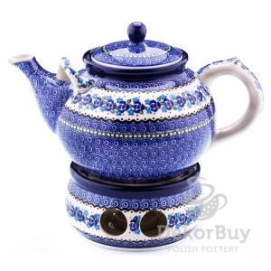 Teapot 1,8 l. + Heater 15 cm.