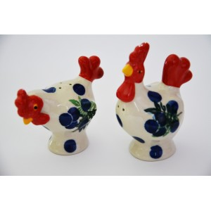 Easter decoration - Hen and Rooster salt and pepper shaker