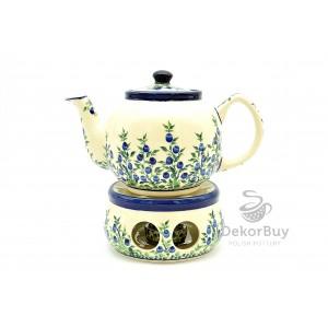 Teapot 1,0 l. + Heater