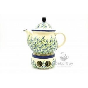 Teapot 1,25 l. + Heater