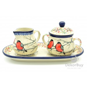 Sugar bowl and Milk jug- Set