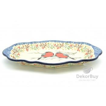 Serving dish 24x16 cm.