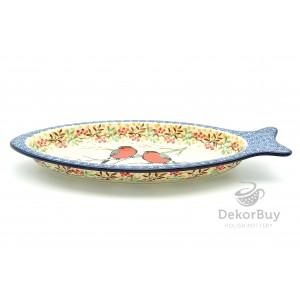 Serving dish fish 30x14,5 cm.