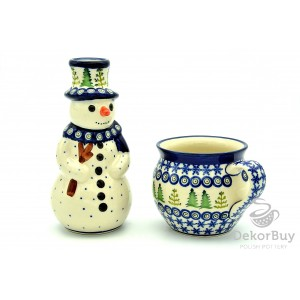 Snowman + Mug