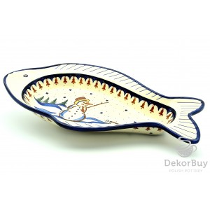 Serving Dish- Fish 44,2 cm.