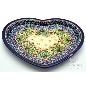 Serving Dish Heart