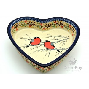 Serving Dish Heart