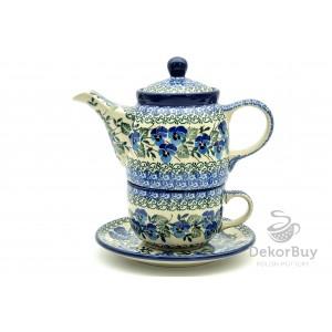 Teapot and cup - set