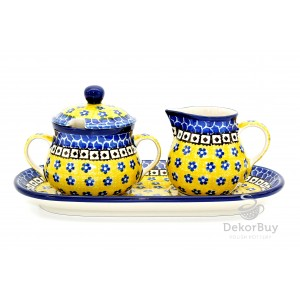 Sugar bowl and Milk jug- Set